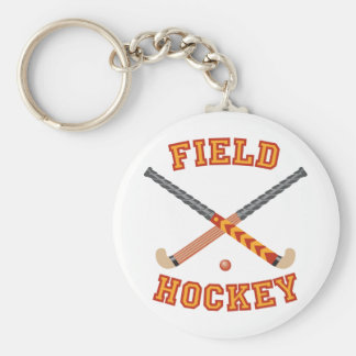 Field Hockey Key Ring