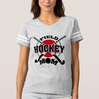 Field Hockey Mom Crossed Hockey Sticks Hockey Ball T-Shirt