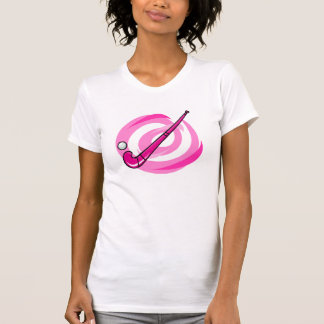 Field Hockey pink logo T-Shirt