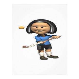 Field Hockey Player 2 Flyers