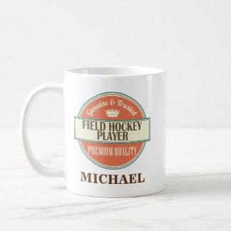 Field Hockey Player Personalized Office Mug Gift