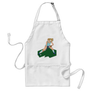 Field Hockey Player Standard Apron