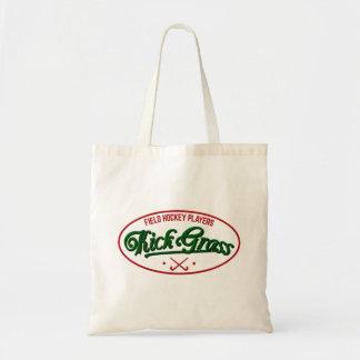 Field Hockey Players KickGrass Tote Bag
