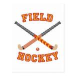 Field Hockey Postcard