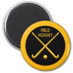 Field Hockey Refrigerator Magnet