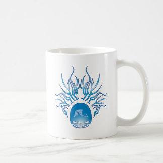 Field Hockey Skull Coffee Mugs