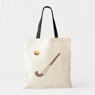 Field Hockey Stick Ball Tote Bag
