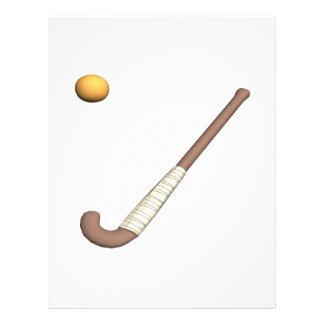 Field Hockey Stick Ball Flyer