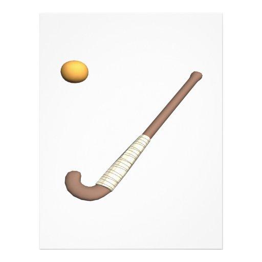 Field Hockey Stick & Ball Flyer