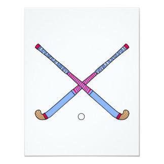 Field Hockey Sticks Card