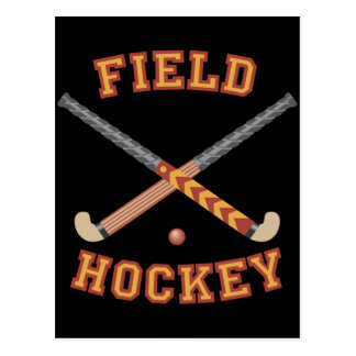 Field Hockey Sticks Postcard