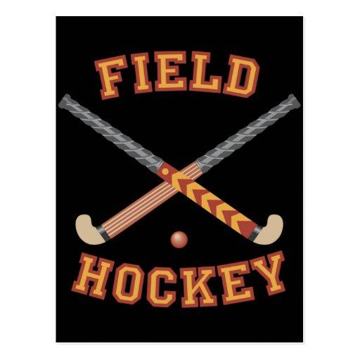 Field Hockey Sticks Postcards