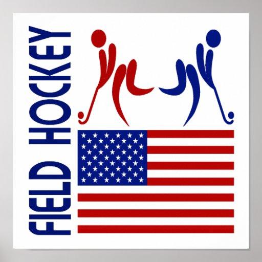 Field Hockey United States Poster