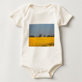 Field in Bloom & Country Cottage Baby Bodysuit