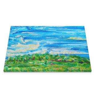 Field in Summer (2008) Canvas Print