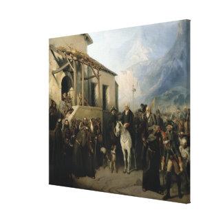 Field-marshal Alexander Suvorov Canvas Print
