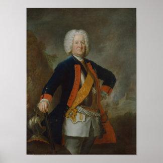 Field Marshal Count Finck von Finckenstein Poster