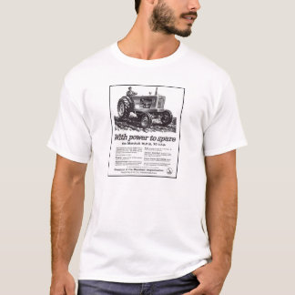 Field Marshall Classic Tractor Vintage Hiking Duck T-Shirt