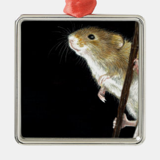 Field Mouse design Christmas Ornament