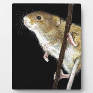 Field Mouse design Plaque