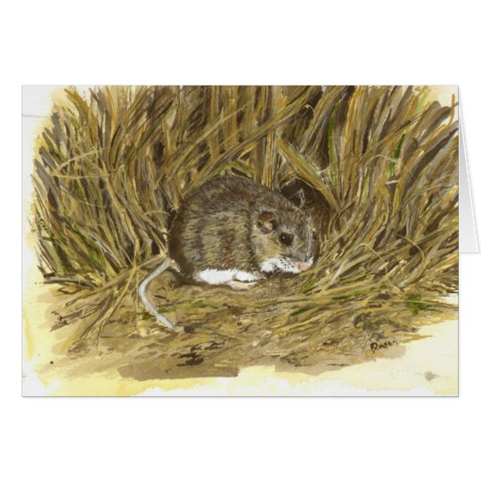Field Mouse Note Card