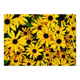 Field of Black-Eyed Susans Personalized Invites