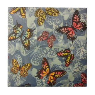 Field of Butterflies Tile