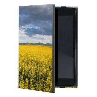 Field Of Canola In Late Evening Light Cover For iPad Mini