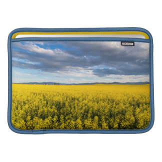 Field Of Canola In Late Evening Light Sleeve For MacBook Air