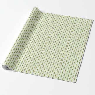 Field of Christmas Trees Wrapping Paper