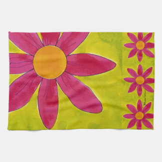 Field of Daisies ~ American MoJo Kitchen Towel
