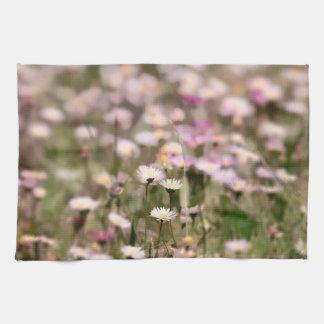 Field of Daisies Photo Tea Towel