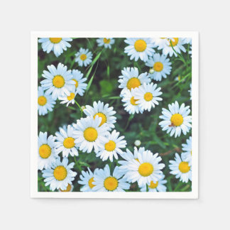 Field of Daisies Summer Party Disposable Napkin