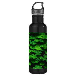 Field Of Green Shamrock Clover 710 Ml Water Bottle