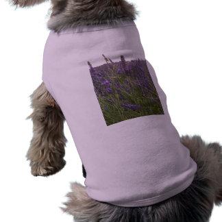 Field of Lavender Sleeveless Dog Shirt