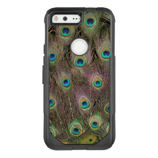 Field Of Peacock Feathers OtterBox Commuter Google Pixel Case