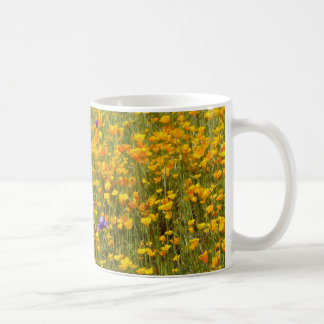 Field of Poppies and Wildflowers Mug