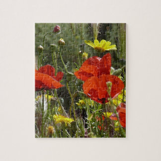 Field of Poppies Jigsaw Puzzle