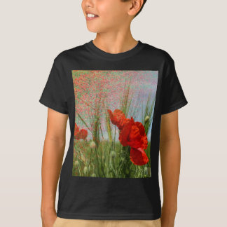 field of poppies T-Shirt