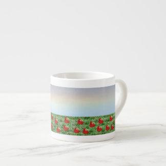 Field of Strawberries Espresso Mug
