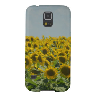 Field of Sunflowers Galaxy S5 Cases