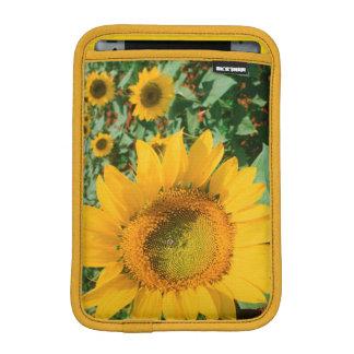 Field Of Sunflowers. Heidleberg District iPad Mini Sleeve