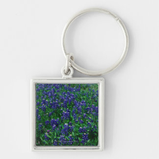 Field of Texas Bluebonnets Key Ring