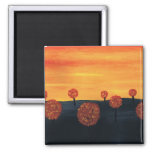 Field of Trees Refrigerator Magnets