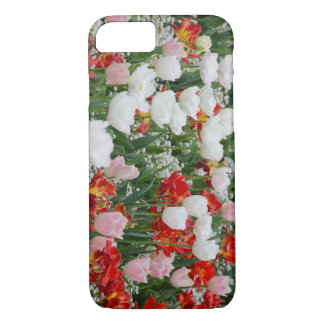 Field Of Tulips Vibrant Colourful Design iPhone 8/7 Case