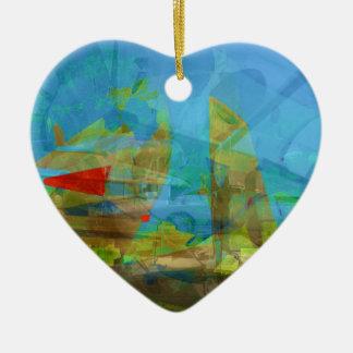 Field of War Ceramic Heart Decoration