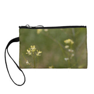 Field of Yellow Flowers Coin Purses