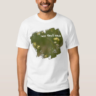 Field of Yellow Flowers; Customizable Tees