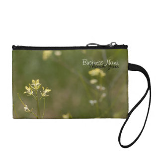 Field of Yellow Flowers; Promotional Coin Wallets