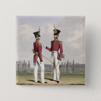 Field Officers of the Royal Marines, plate 2 from 15 Cm Square Badge